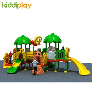 New Style Customized Commercial Plastic Combination Slide Outdoor Playground