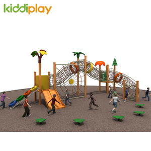 Kids Play House Outdoor Wooden Playground