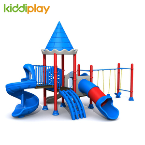 Customized Swing And Slide Kids Castle Series Outdoor Playground