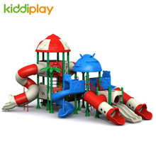New Developed Transformers Series Plastic Parts Tube Slide Outdoor Playground
