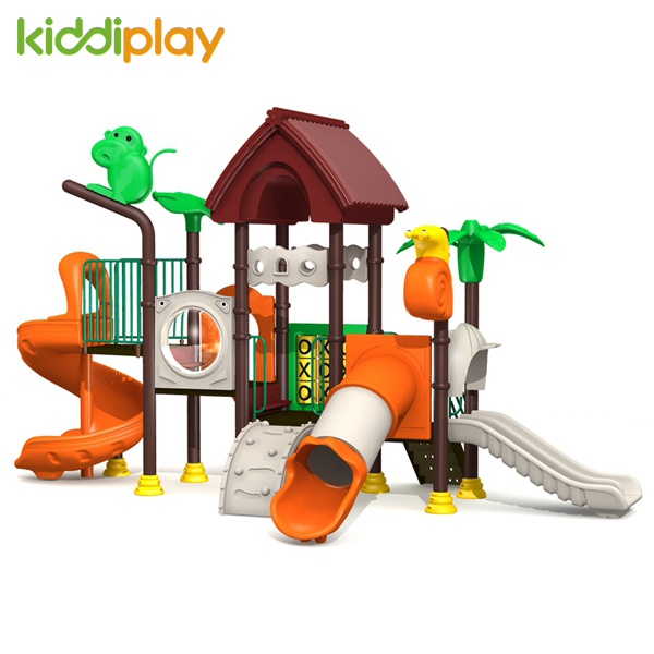 New Style Crazy Selling Kids Plastic Outdoor Playground Slide