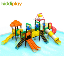 Newest Plastic Outdoor Water Series Kids Playground Swimming Pool Slide