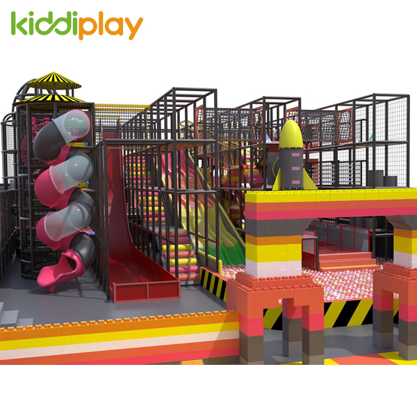 Large Kids Slide Indoor Play Area Equipment