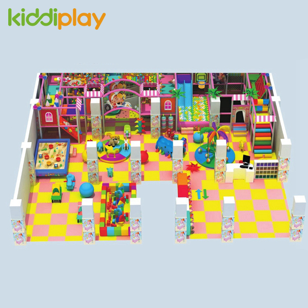 New Design Custom Theme Park Large Children Indoor Plastic Playground