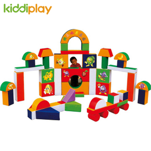 Happy Childhood Indoor Soft Toddler Playground Building Blocks Game