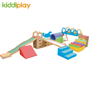 High Quality Children Playground Indoor Wooden Slide For Kid Game