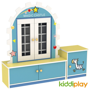 Indoor Furniture Children Star Type Teacup Cabinet