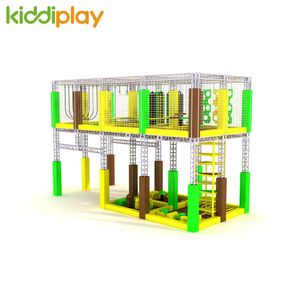 Children Indoor Playground Ninja Course Trampoline Park Junior Playground