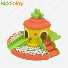 Hot Selling Carrot Theme Kindergarten Soft Playhouse for Toddler