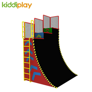 Hot Selling Indoor Adventure American Ninja Warrior Obstacles Warped Wall