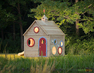 Wooden Outdoor Garden Forest Playhouse for Kids And Toddlers