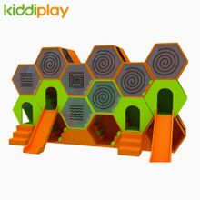 New Design Colorful High Quality Beehive Maze PVC Kids Indoor Soft Playground