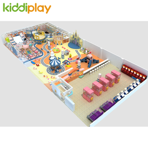 Amusement Park Commercial Children Indoor Playground Happy Land Jumping Zone