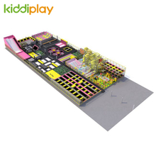 KD11085A The Most Diverse Indoor Playground Trampoline Park Center