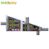 KD11042A Ninja Course Parkour Battle Beam Foam Pit Spider Wall Climbing Wall Jumping Trampoline Park Center