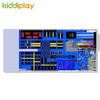 KD11074C Hot Custumized Building Blocks Scream Slide Large Trampoline Park