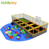 KD11033B Trampoline Park Soft Playground with Foam Pit Basketball Area