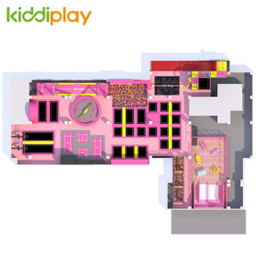 KD11064C Comprehensive Trampoline Park Suitable for L-Site