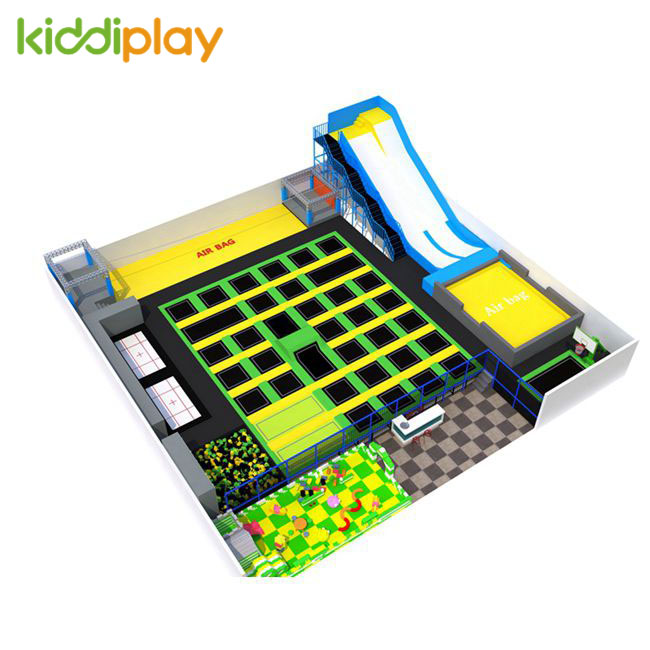KD11082C Hot Popular Play Freely Trampoline Park Center