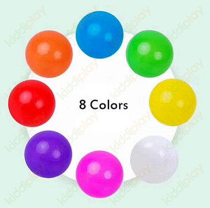Colorful Plastic Ball Children Game Kindergarten Ball And Sand Pool