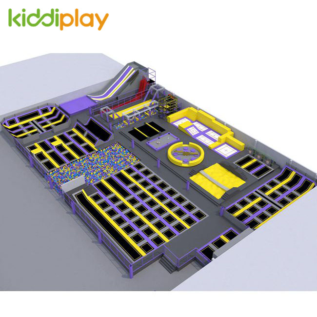 KD11087B Professional And Super Popular Trampoline Park Center