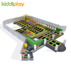 KD11073C-2 Building Blocks Spider Tower Scream Slide Large Trampoline Park