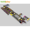 KD11070B HOT Custumized Indoor Playground Popular Large Trampoline Park