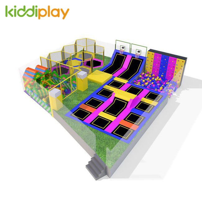 KD11083A Hot Design High Playable Trampoline Park Center