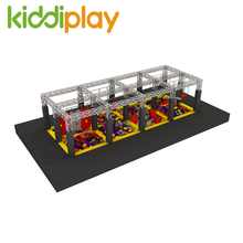 Commercial Plan Custom Design Amusement Park Indoor Playground Equipement Ninja Warrior