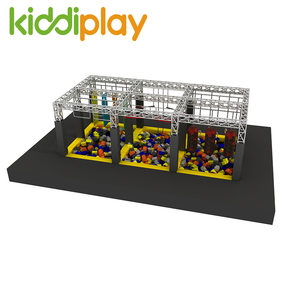 Aduenture American Kids Ninja Warrior Obstacles Indoor Playground Game Ninja Warrior Course