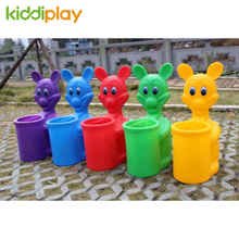 Kids Plastic Toy Garbage Bin for Kindergarten