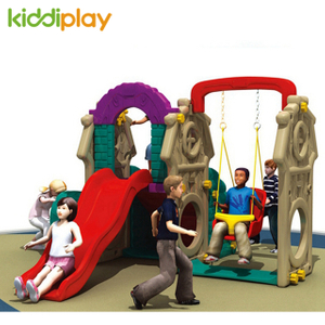 Plastic Combination Swing And Slide Plastic Play Toy for Kids