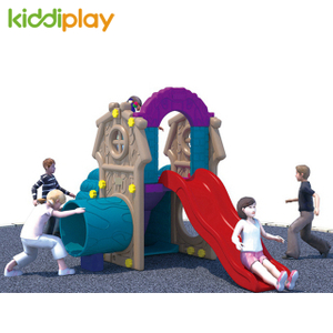 2018 Kids Slide And Swing Outdoor Plastic Play Toy for KiddiPlay