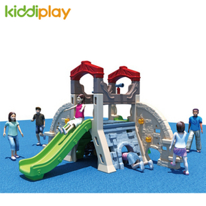 2018 New Pencil Doll Small Swing And Slide for Kids Plastic Toy