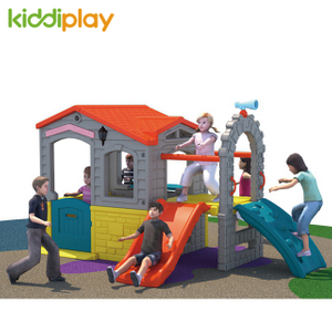 Happy House Plastic Playground Toy for Children Swing And Slide