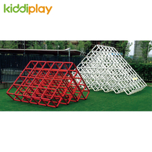 High Quality Kids Iron Pyramid Climbing Cube Game Outdoor