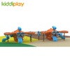 Large Children Game Plastic Airport Slide And Swing