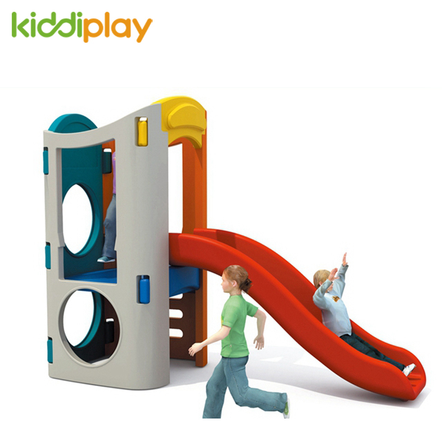 Plastic Play Kids Slide Swing Combined Toy
