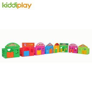Kindergarten Many Types of Game Playhouse